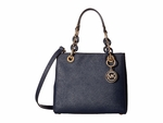 Michael Kors Cynthia small Leather Satchel