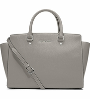 MICHAEL MICHAEL KORS Selma large leather satchel