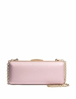 Miniaudiere Clutch In Saffiano Leather