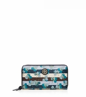 Multicolor Kerrington Zip Continental Wallet