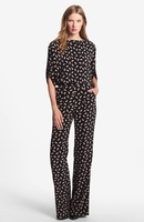Multicolor Lucy Printed Silk Jumpsuit