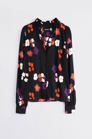 Multicolor Tomboy Print Arty Shirt