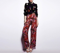Nightingale Print CDC Pants