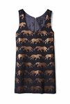 Panther Jacquard Dress