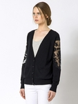 Patrizia Pepe WOOL AND CACHEMIRE CARDIGAN