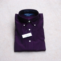 Polo Ralph Lauren Purple Shirt Botton Down