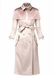 Princess Cape Trench Coat