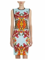 Printed Sleeveless Dress (On Sale)