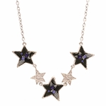'Reluctant Stars' Frontal Necklace (Online Only)