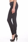 Rich and Skinny The Skinny Tuxedo Pattern Jeans in Indigo Stacked