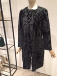 TIFFANY Dark Green Fur Coat
