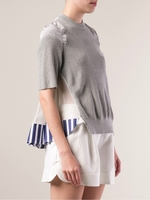 Gray Knit Top (On Sale)