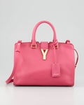 Y-Ligne Cabas Mini Satchel Bag Pink