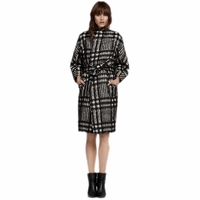Sass Bide Opposite Day Knee Length Pencil Coat