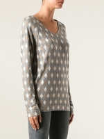 SEE BY CHLOÉ diamond print sweater