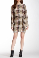 SEE BY CHLOE check print dress