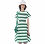 STRIPE CAFTAN DRESS