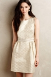 Sunlit Brocade Dress