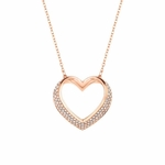 Swarovski 5113583 Cupidon Rose Gold Necklace