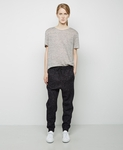 T BY ALEXANDER WANG HEATHER LINEN JERSEY TEE