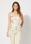 TAMIKO Sequin vest top