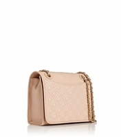 Beige Fleming Medium Bag