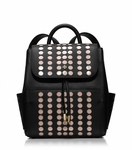 Black Lily Mini Backpack