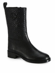 Tory Burch Black Marion Bootie