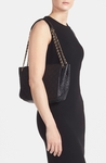 Tory Burch Black Small Marion Quilted-Leather Shoulder Bag