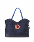 Blue Kellyn Canvas Tote Bag