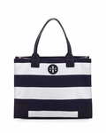 Tory Burch Blue Packable Ella Tote - 4.28