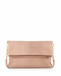 Tory Burch Bombe Foldover Crossbody Clutch Bag