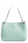Tory Burch 'Marion' Diamond Quilted Leather Tote