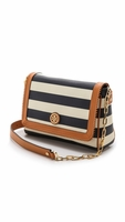Multicolor Kerrington Cross Body Bag Awning Stripe
