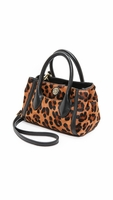 Savannah Tiny Tote with Haircalf