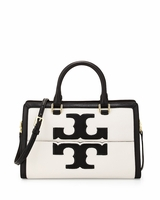 White Jessica Leather Satchel Bag