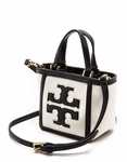 Tory Burch White Tiny Tote