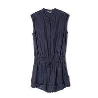 Vince Soft Twill Romper