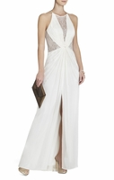 White Maxine Evening Gown