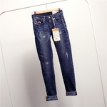 Wink japan long rise dirty dozen wash jeans