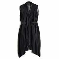 Zipper Silk Vest (On Sale)