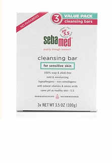 3 Pack Sebamed Cleansing Bar - 300g