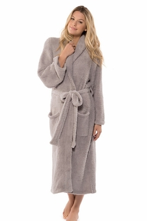 Barefoot Dreams CozyChic Dove Robe