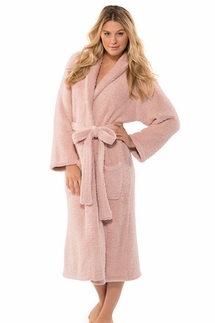 Barefoot Dreams CozyChic Dusty Rose Robe