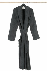 Barefoot Dreams CozyChic Slate Blue Robe