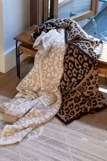 Barefoot Dreams In The Wild CozyChic Leopard Throw