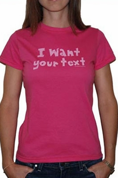 Be As You Are I Want Your Text tee