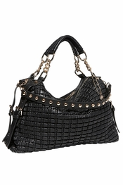 Big Buddha Abigail Black Handbag