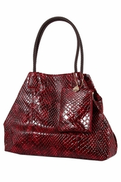 Big Buddha Amelia Burgundy Handbag