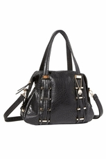 Big Buddha Avis Black Handbag